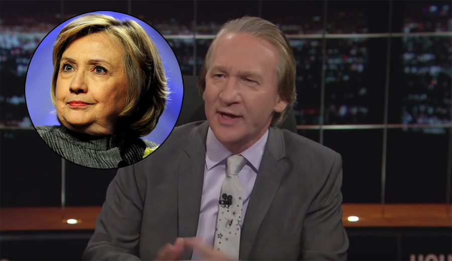 Bill Maher Gets Heated On 'Real Time' While Defending 'Talent Free Hack' Hillary Clinton