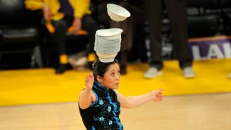 The Warriors Are Buying Red Panda A Custom Unicycle To Replace The One Someone Stole