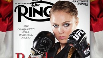 Oscar De La Hoya Reveals He's Talked With Ronda Rousey About A Possible Move To Boxing