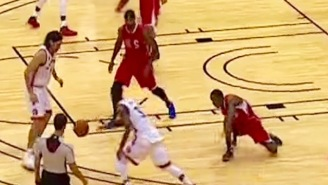 Terrence Ross' Crossover On Jamal Crawford Was Closer To A Turnover Than Epic Ankle-Breaker