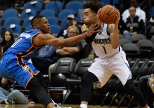 Sam Mitchell's Hilarious Advice On Stopping Russell Westbrook Wasn't Helpful To Rookie Tyus Jones
