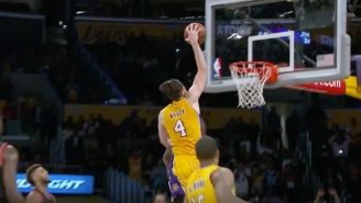 Holy Cow, Ryan Kelly Jammed A Game-Winner For The Lakers