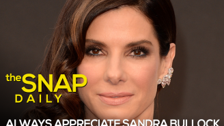 The Snap: Our brand is Sandra Bullock