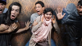 Check Out These Photos Of Terrified People At The 'Scariest Haunted House In The World'