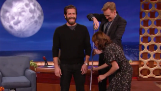Conan Discovers That Jake Gyllenhaal's Height Is A Hot Debate On The Internet
