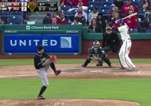 Watch Ichiro Make His Major League Pitching Debut At 41-Years-Old