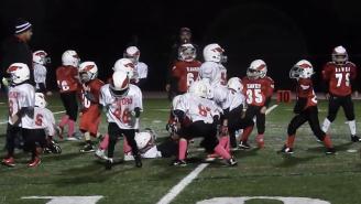 Hero Kids Do The 'Whip/Nae Nae' During A Pee Wee Football Game