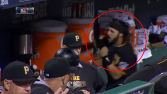 The Internet Had All Kinds Of Fun With Sean Rodriguez Punching A Gatorade Cooler