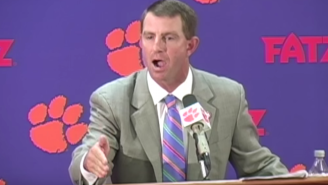 "This Reporter Made The Mistake Of Asking Dabo Swinney About ""Clemsoning"""