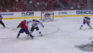 Alex Ovechkin Made A Defender Look Silly Before Sniping His First Goal Of The Season
