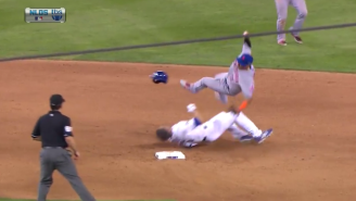 Take A Look At This Dirty, Brutal Slide From Chase Utley That Injured Ruben Tejada