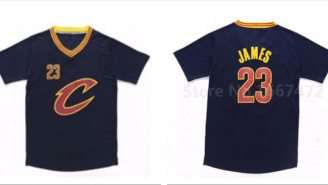 Are The Cavs Going To Be Rocking These Long-Sleeved Jerseys Next Season?