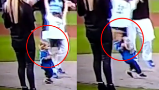 Enjoy This Little Kid Getting Obliterated While Celebrating The Kansas City Royals' ALDS Win