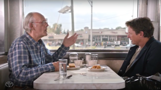 Michael J. Fox And Christopher Lloyd Discuss The 'Back To The Future' Tech That Became A Reality