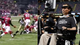 The Saints Paid Tribute To Steve Gleason With This Incredible Blocked Punt Touchdown
