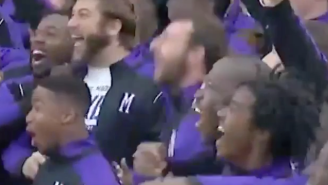 James Madison Players Went Nuts When They Saw Their Helmets For Saturday's Game