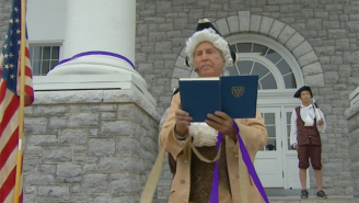 Lee Corso Dressed Up Like James Madison On 'College GameDay'