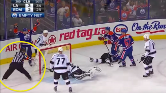 The Oilers Lost To The Kings Thanks To A Controversial 'No Goal' Call In The Final Seconds
