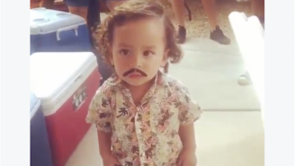The Internet Is On Fire Over This Toddler Dressed Up As Pablo Escobar For Halloween