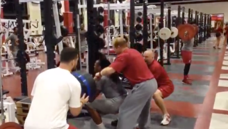 Here's Alabama Running Back Derrick Henry Squatting More Than 500 Pounds