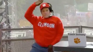 Desmond Howard Dressed As Dabo Swinney And Did The Whip/Nae Nae For Halloween