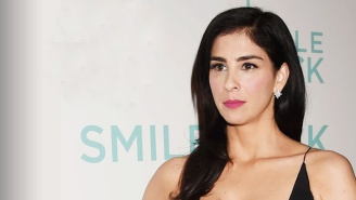 Sarah Silverman Brought 'The Girls' With Her To Her Film Premiere, And People Definitely Noticed