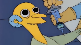 This Guy Did Nothing But Take LSD And Watch 'The Simpsons' For Two Days