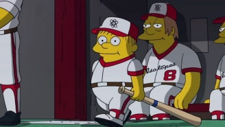 Check Out This Wonderful World Series Promo With 'The Simpsons'