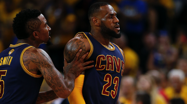 Lebron James Dope Pics: J.R. Smith Wants LeBron To Save Him A Spot On His 'Dope