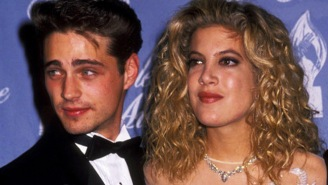 Tori Spelling Says She Had Sex With Jason Priestley, Who Is Not Happy About It