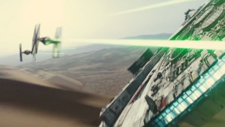 It's official! [REDACTED] is piloting the Millennium Falcon in 'Star Wars: The Force Awakens'
