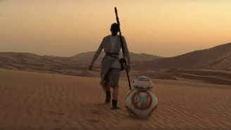 'Star Wars' Reveals The Original Plan For Jakku Had Way More Trees