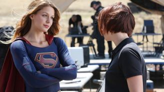 Review: Melissa Benoist soars as 'Supergirl' in fun new CBS series