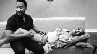 Chrissy Teigen Is Pregnant With Her First Child With Husband John Legend
