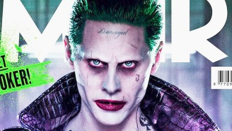 The Joker is electrifying in his new 'Suicide Squad' photo