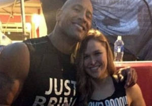 Ronda Rousey Has High Praise For The Rock And Gina Carano
