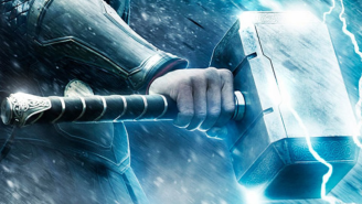 Thor's hammer is real! This fan created a Mjölnir replica only HE can lift