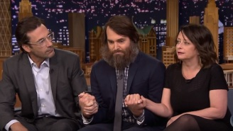 Does Will Forte Have Poop Living In His Beard? Watch Him Test It Out On 'The Tonight Show'