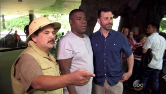 Tracy Morgan Decided To Buy The Bronx Zoo To Give Jimmy Kimmel A Tour And Get Animals Pregnant