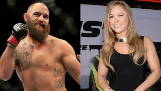 It Appears As If Ronda Rousey's Boyfriend Has Officially Moved On From His Estranged Wife