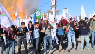 Here's Horrifying Video From The Deadly Peace Protest Bombing In Turkey