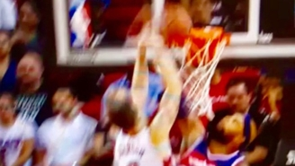 Tyler Johnson Posterized Drew Gooden Off A Sweet Pass From Josh McRoberts