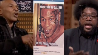 Mike Tyson Gave A 'Cold Blooded' Response To Questlove Using Him For A 'Hotline Bling' Meme
