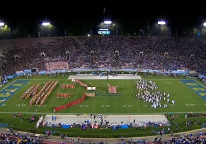 The UCLA And Cal Marching Bands Trolled USC With This Wonderful Trojan Horse Performance