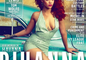 Rihanna Speaks On Chris Brown And Eminem In Vanity Fair