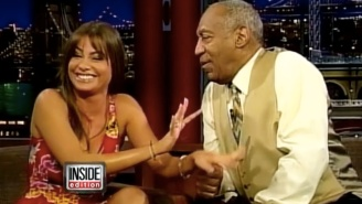 Watch Bill Cosby Creepily Creep All Over Sofia Vergara In This Old Interview From 2003