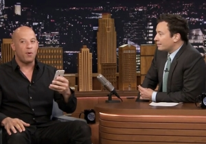 Watch Vin Diesel Read A Ridiculously Adorable And Touching Text Message From His Daughter