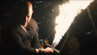 Vin Diesel On His Flaming Sword Scene In 'The Last Witch Hunter': 'It Was Practical'