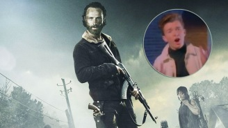 Rick Astley Royally Screws Over Rick Grimes And His Crew From 'The Walking Dead'