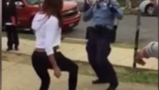 This Cop Wanted To Break Up A Group Of Teens But Ended Up Winning An Epic Dance-Off Instead